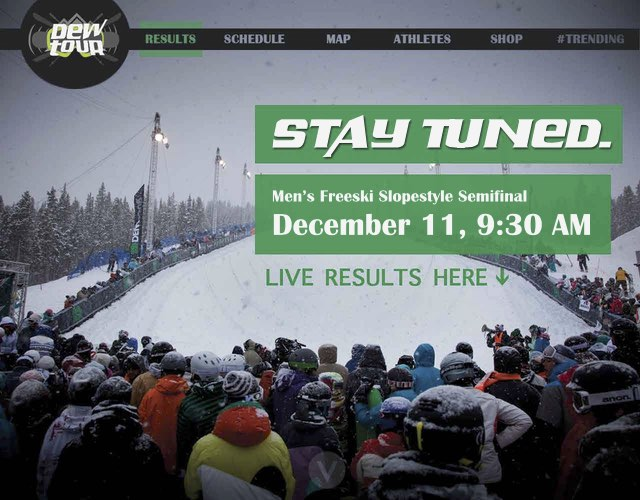 Dew Tour Homepage