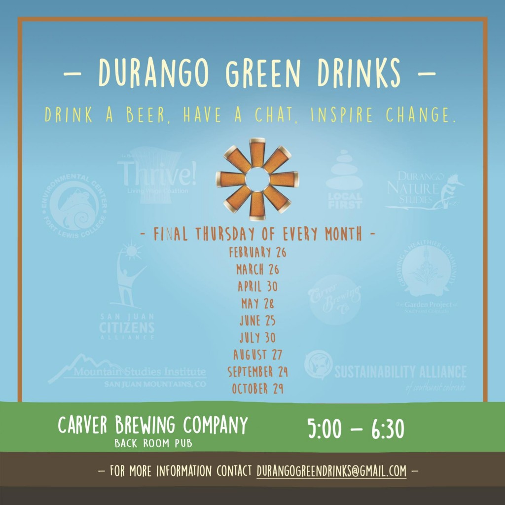 Green Drinks Email