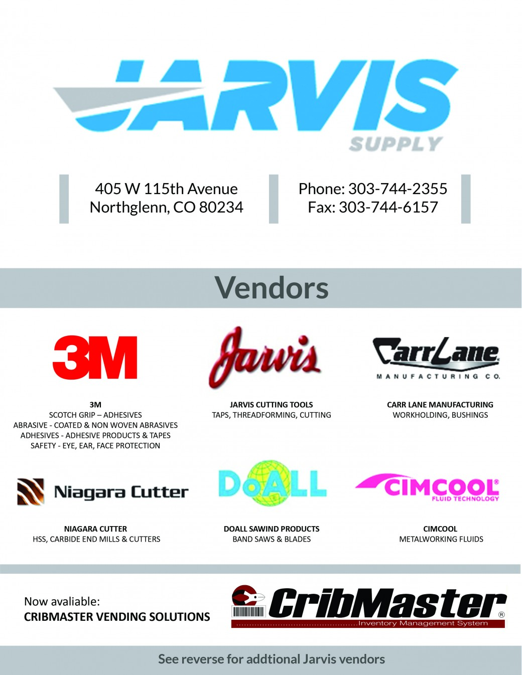 Jarvis Vendors_front