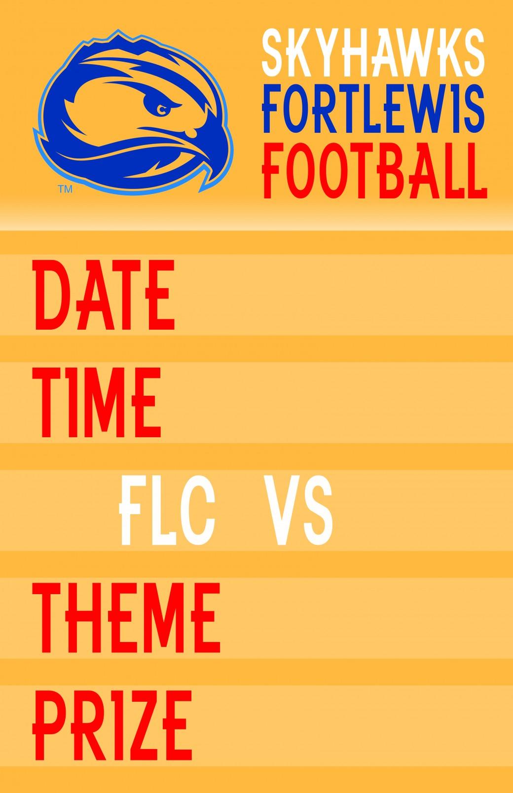 Marketing Poster Football