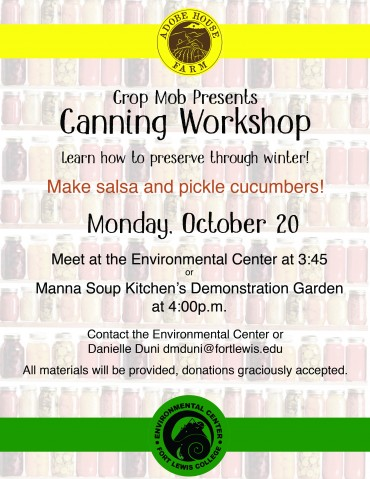 canning workshop